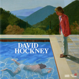 Cover of David Hockney L'Exposition / The Exhibition