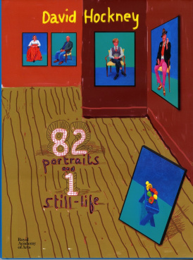 Cover of David Hockney: 82 Portraits and 1 Still-Life