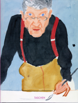 Cover of David Hockney–A Bigger Book: Chronology