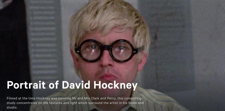 Image of Portrait of David Hockney