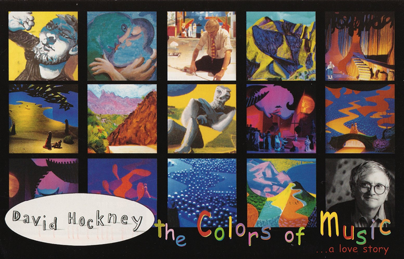 Image of David Hockney: The Colors of Music