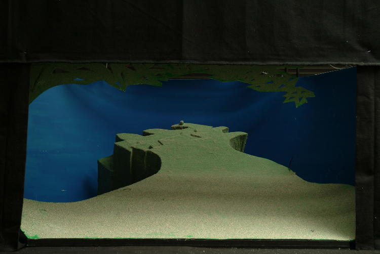 "Image of 1"" Scale model, Act III, Final Version from ""Tristan und Isolde"" (Alternate Lighting 1)"