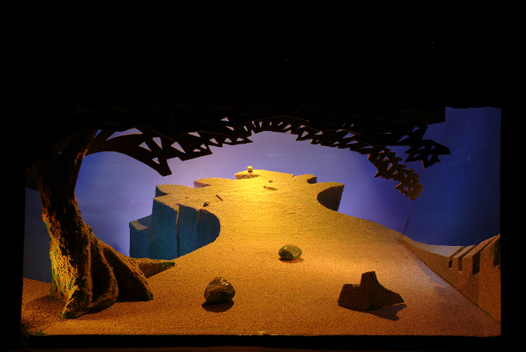 "Image of 1"" Scale model, Act III, Final Version from ""Tristan und Isolde"" (Alternate Lighting 5)"