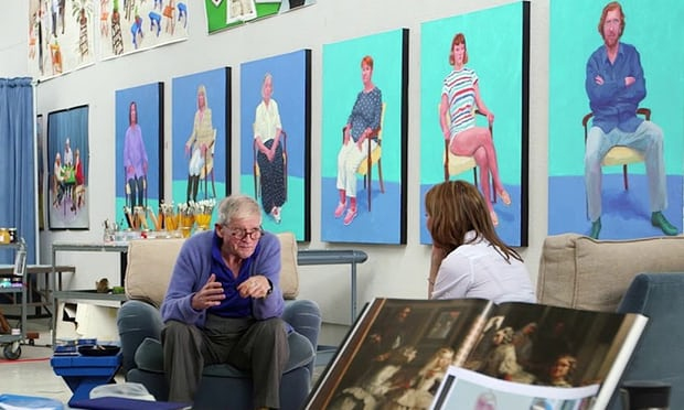 Image of Exhibition on Screen: David Hockney at the Royal Academy of Arts