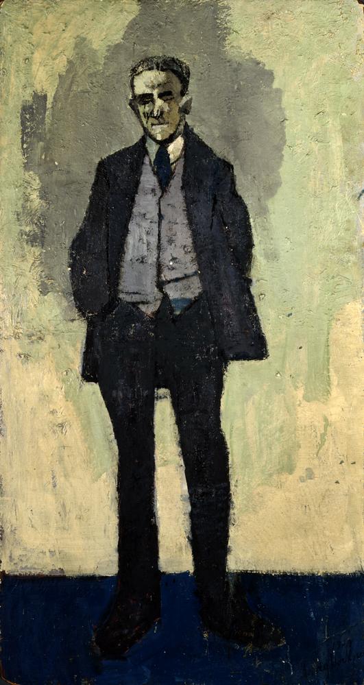 Image of Kenneth Hockney Standing