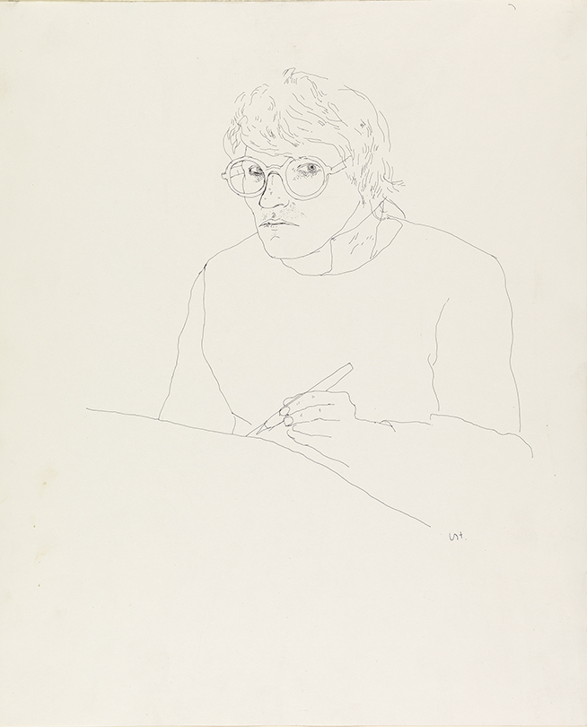 Image of Self Portrait with Pen