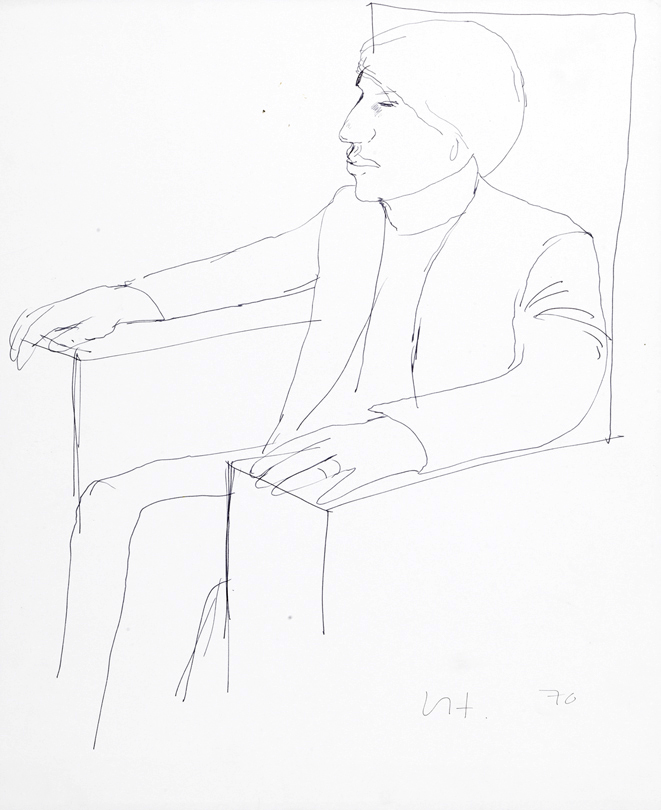 Image of Peter in an Armchair I