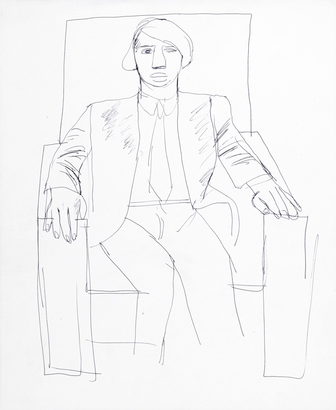 Image of Peter in an Armchair II