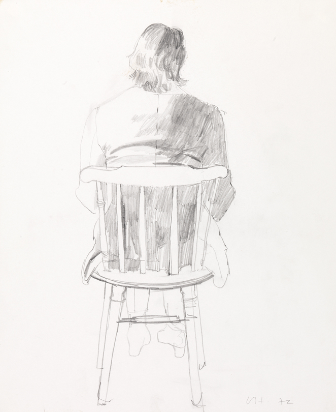 Image of Peter from Behind