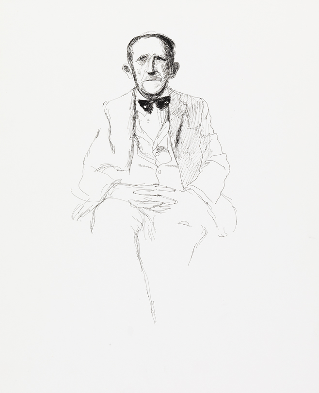 Image of My Father with Bow Tie