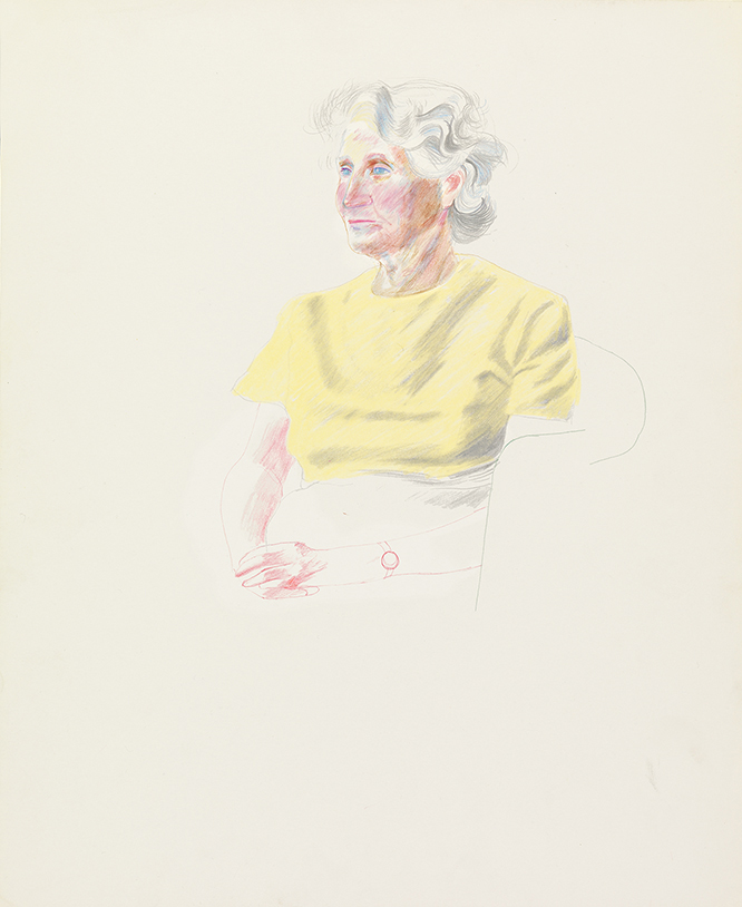 Image of Mother in a Yellow Jumper