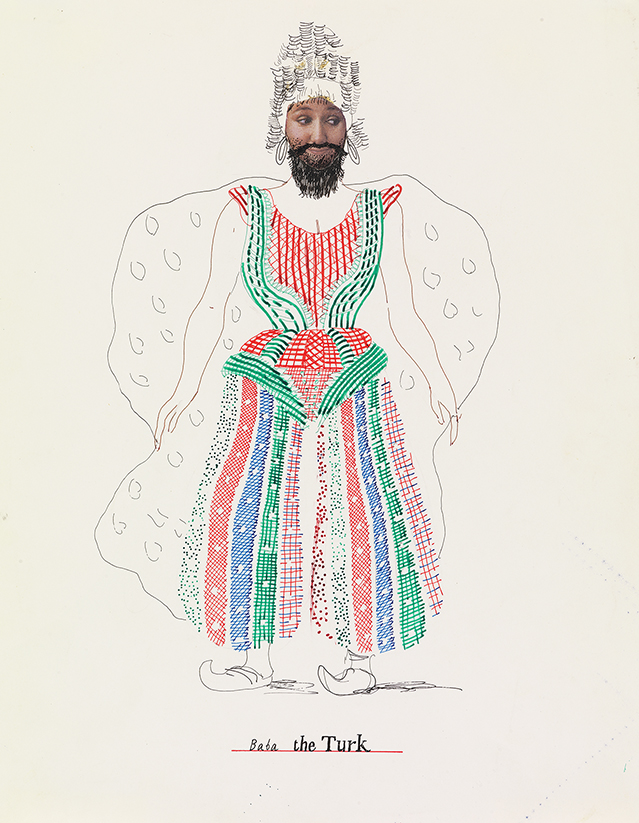"""Image of Baba the Turk from """"The Rake's Progress"""""""