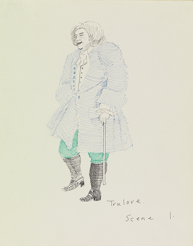 "Image of Trulove, Scene I from ""The Rake's Progress"""