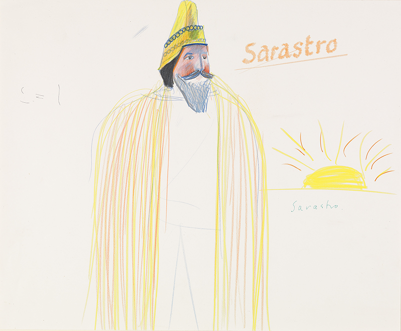 """Image of Sarastro from """"The Magic Flute"""", 1977"""