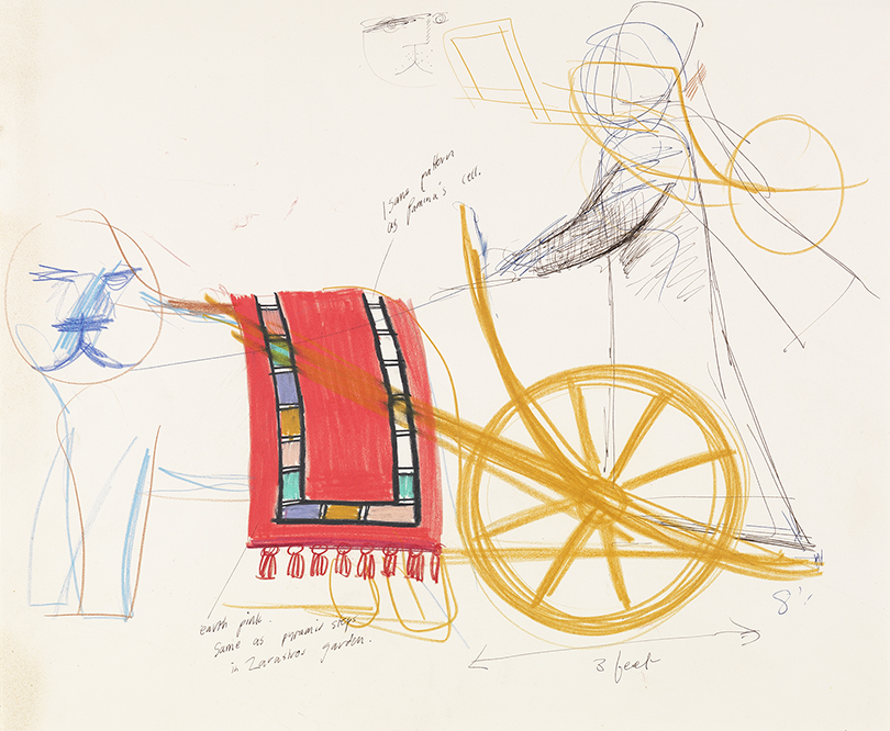 "Image of Sarastro's Chariot from ""The Magic Flute"", 1977"