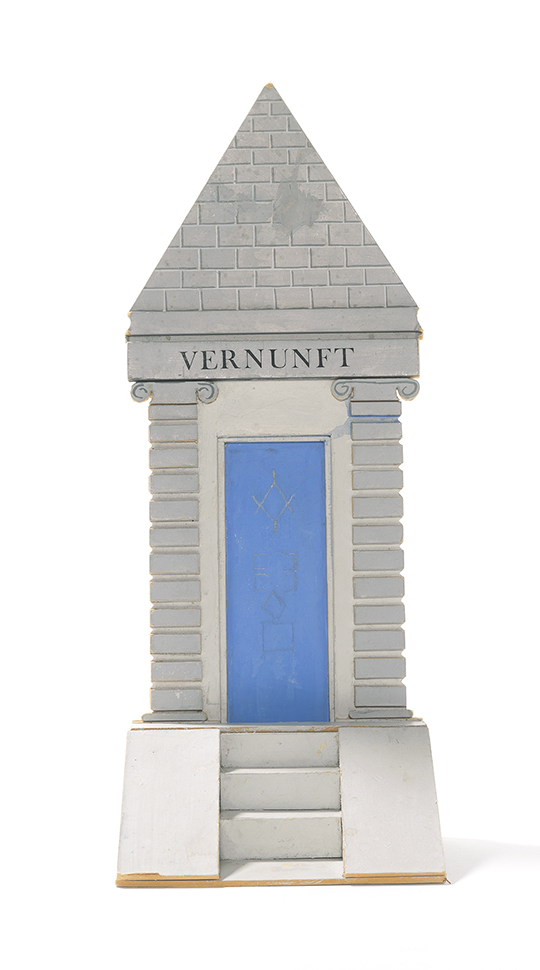 "Image of Temple Model 'Vernunft' from ""The Magic Flute"""