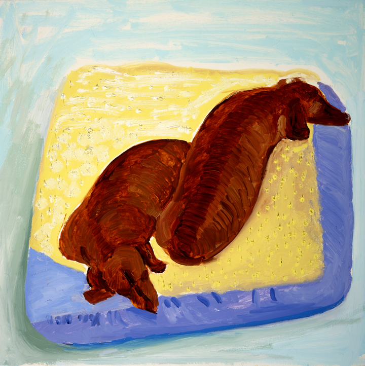 Image of Dog Painting 4