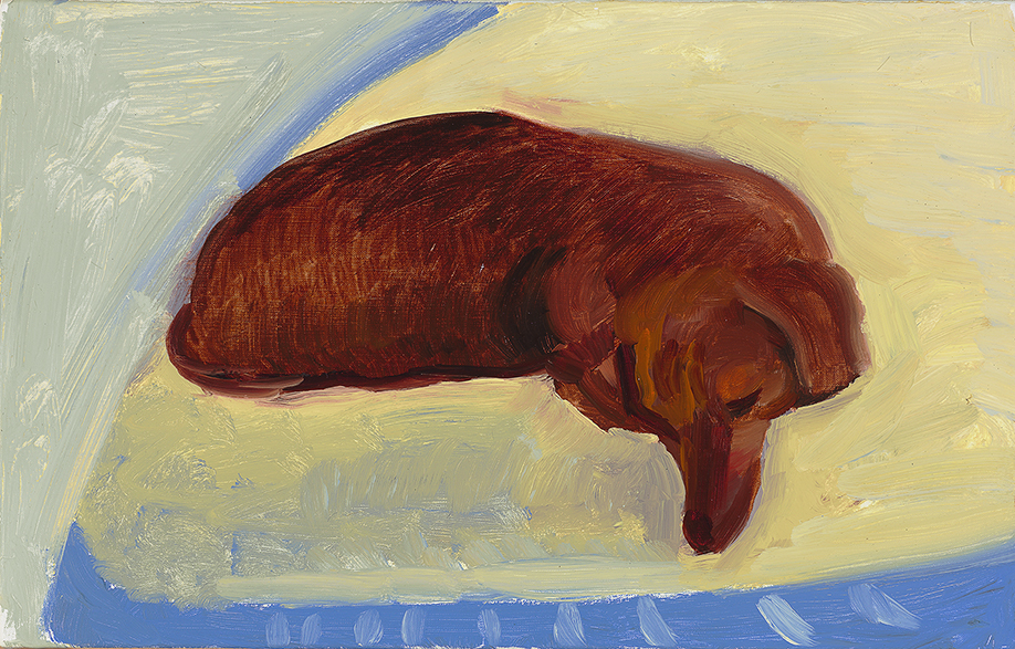 Image of Dog Painting 5, 1995