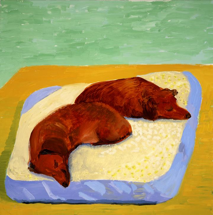 Image of Dog Painting 11, 1995