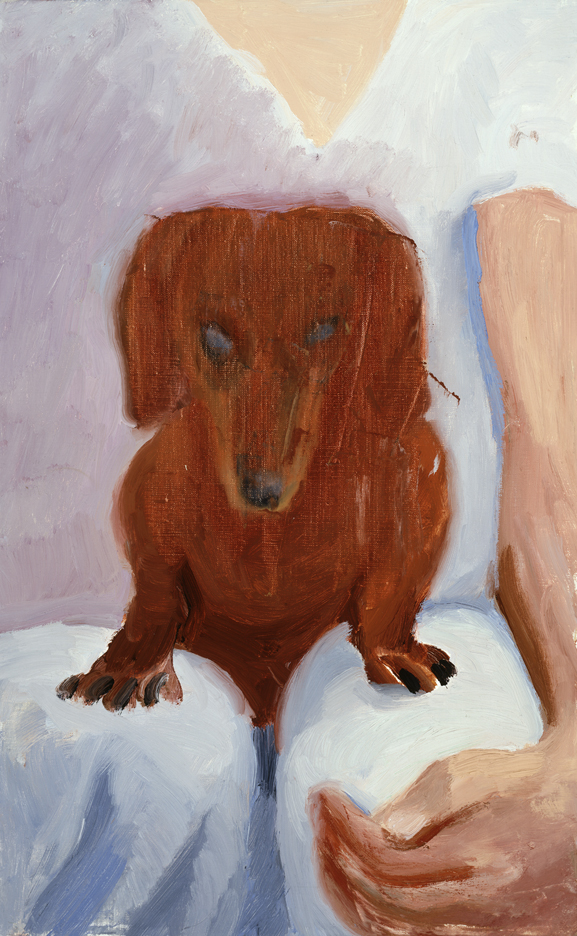 Image of Dog Painting 15, 1995