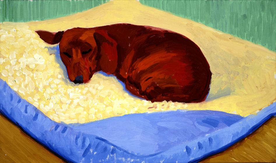 Image of Dog Painting 17, 1995