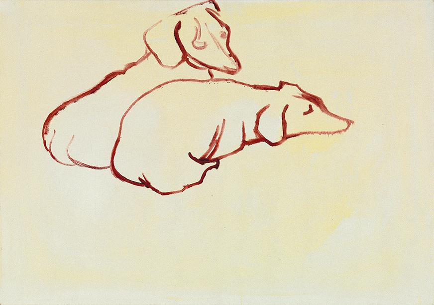 Image of Dog Painting 18, 1995