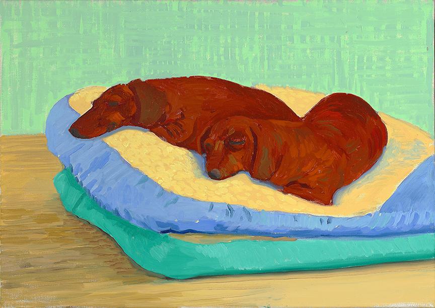 Image of Dog Painting 19, 1995