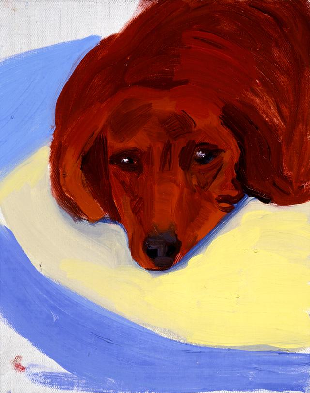 Image of Dog Painting 21
