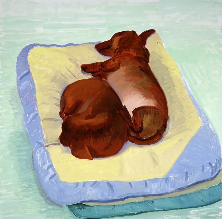 Image of Dog Painting 22