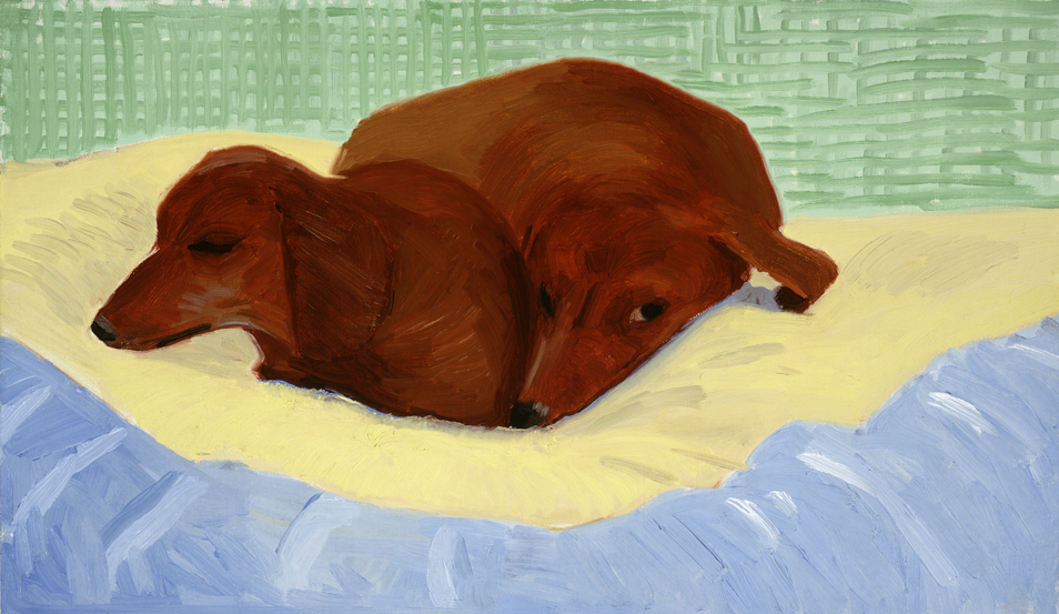Image of Dog Painting 26, 1995