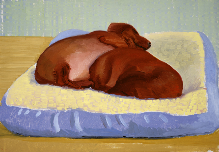 Image of Dog Painting 27, 1995