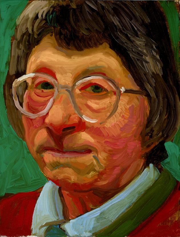 "Image of Margaret Hockney, December 27, 1996 from ""Portrait Wall"""