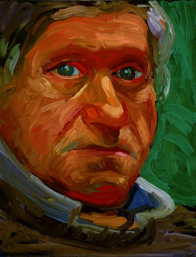 "Image of Paul Hockney, December 31, 1996 from ""Portrait Wall"""