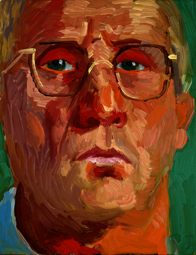 """Image of Self Portrait, January 19, 1997 from """"Portrait Wall"""""""