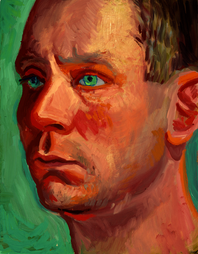 """Image of Richard Schmidt, January 22, 1997 from """"Portrait Wall"""""""