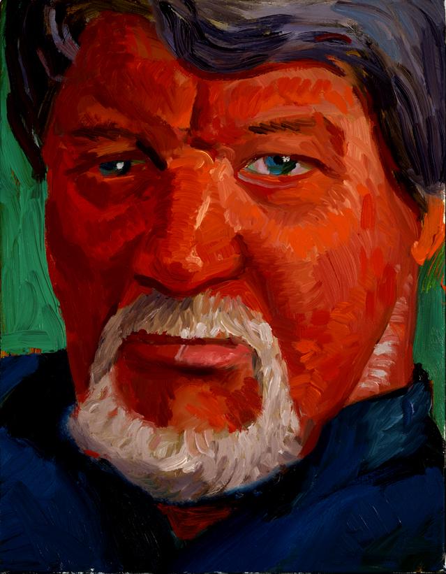 """Image of John Hockney, January 27, 1997 from """"Portrait Wall"""""""