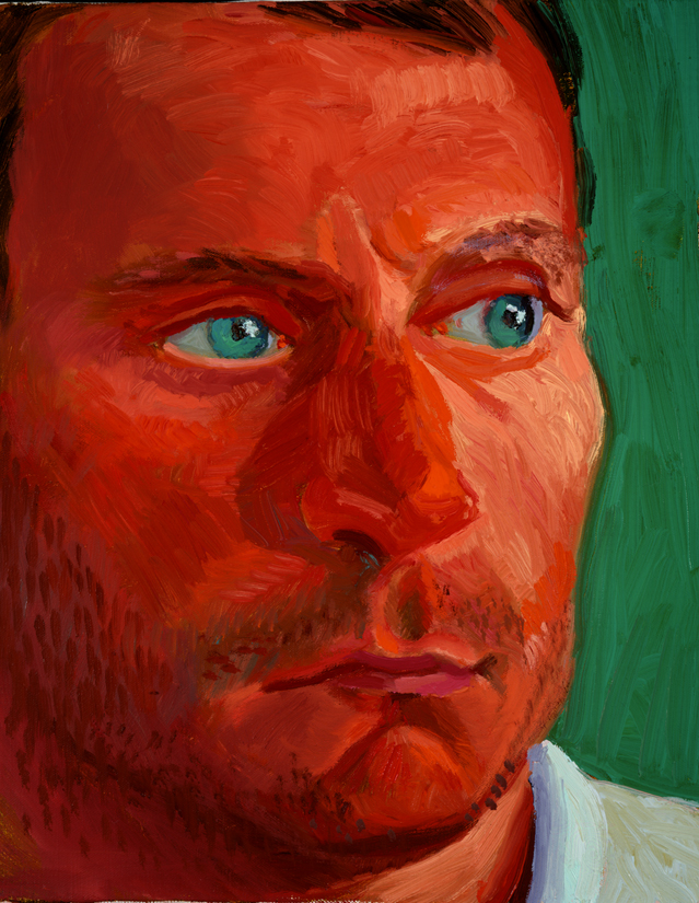 """Image of Richard Schmidt, March 17, 1997 from """"Portrait Wall"""""""