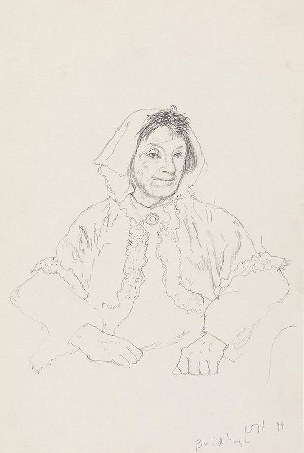 Image of Margaret Hockney. Bridlington. 30th April 1999