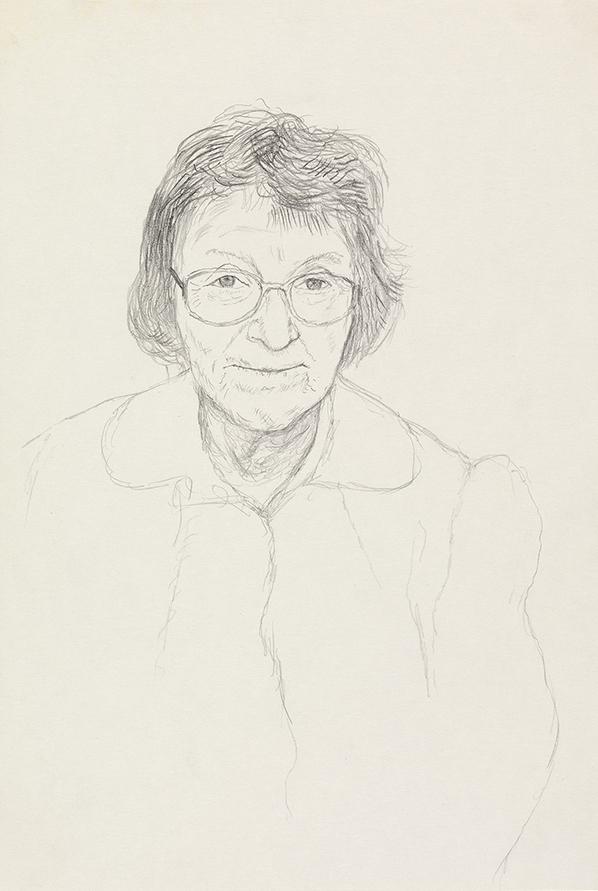 Image of Margaret Hockney. Bridlington. 1st May 1999