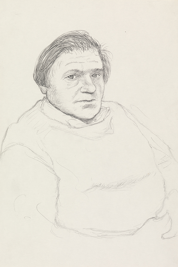 Image of Paul Hockney. Bridlington. 1st May 1999
