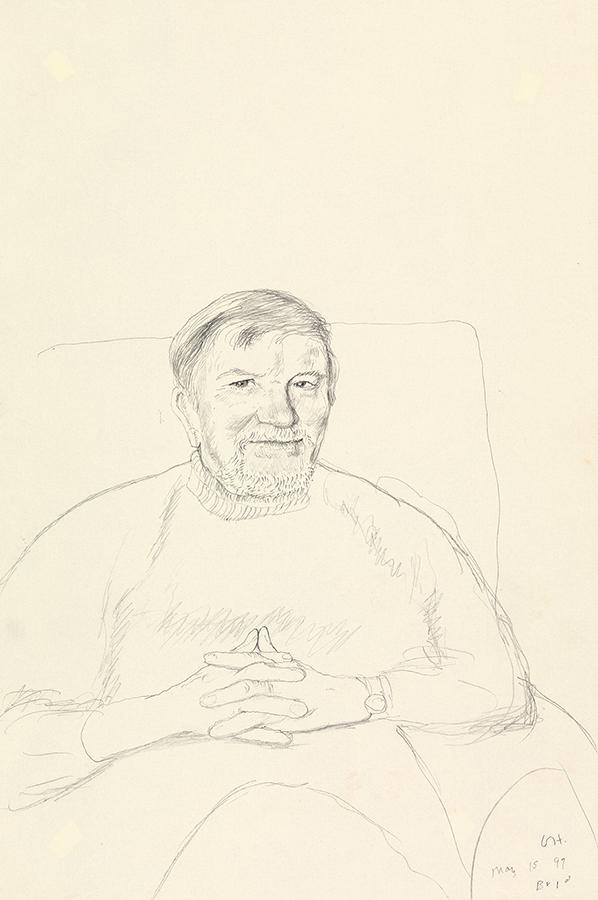Image of John Hockney. Bridlington. 15th May 1999