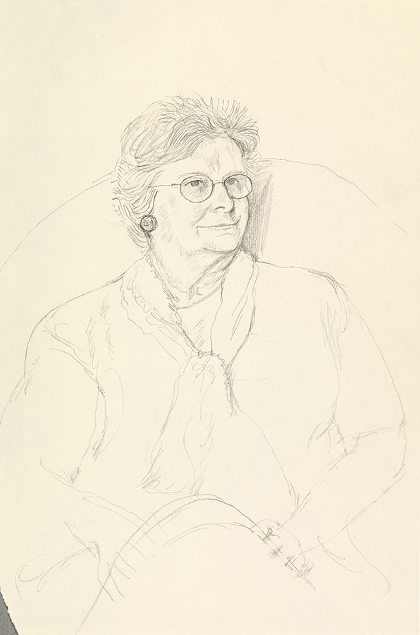 Image of Jean Hockney. Bridlington. 15th May 1999