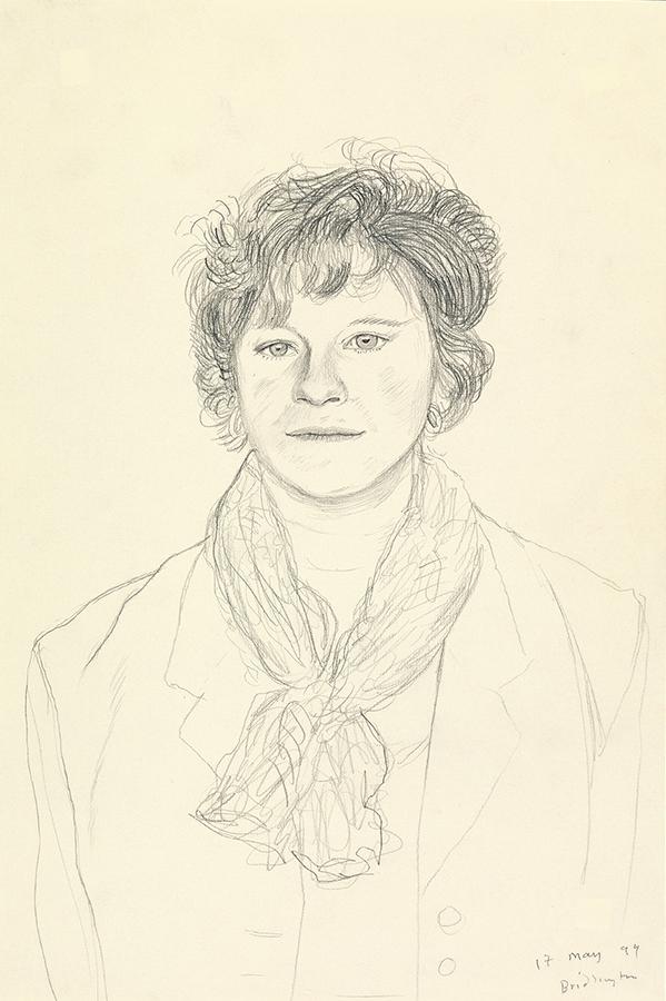 Image of Lisa Hockney. Bridlington. 17th May 1999