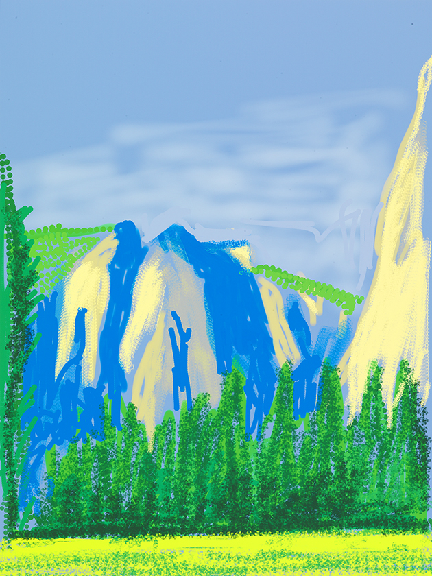 """Image of Untitled No. 2 from """"The Yosemite Suite"""", 2010"""