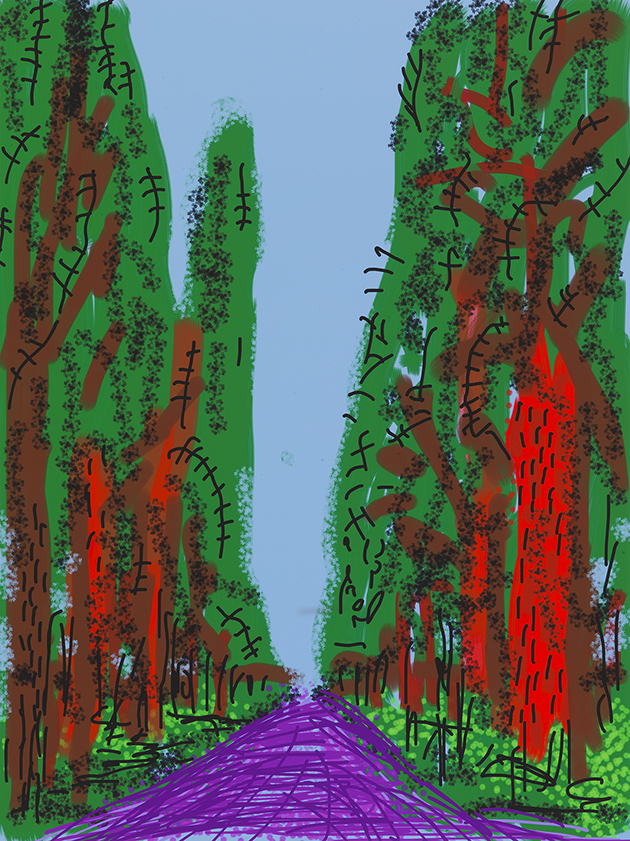 """Image of Untitled No. 5 from """"The Yosemite Suite"""""""