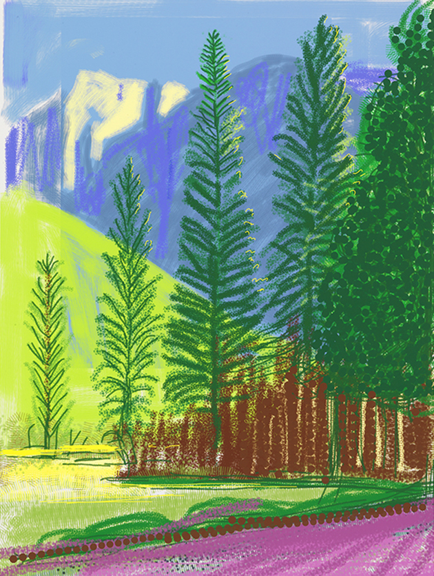 """Image of Untitled No. 12 from """"The Yosemite Suite"""""""