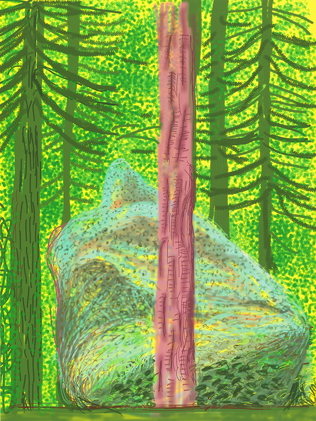 """Image of Untitled No. 19 from """"The Yosemite Suite"""""""