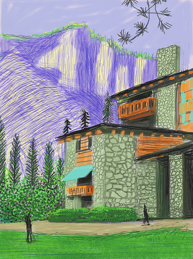 """Image of Untitled No. 23 from """"The Yosemite Suite"""""""