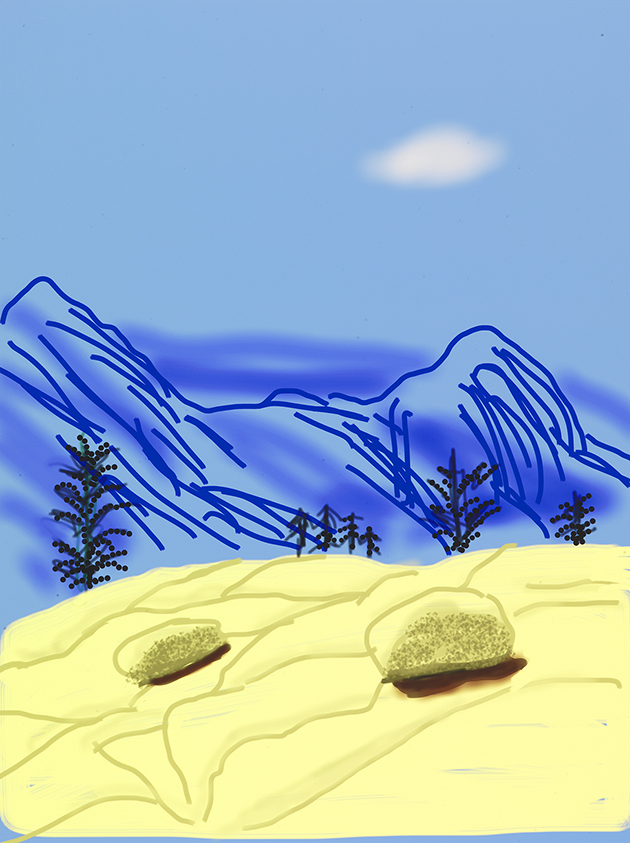 """Image of Untitled No. 24 from """"The Yosemite Suite"""""""