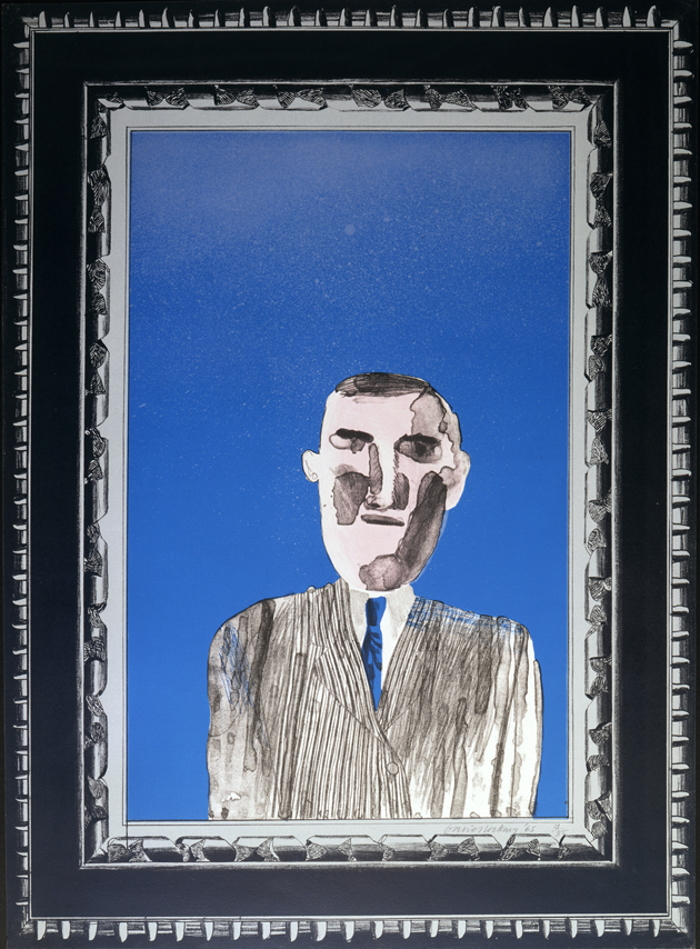 "Image of Picture of a Portrait in a Silver Frame from ""A Hollywood Collection"""